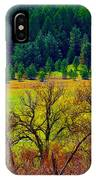 The Forest Echoes With Laughter IPhone Case