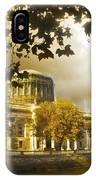 The Four Courts In Reconstruction Sepia IPhone Case