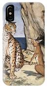 The Fox And The Leopard IPhone Case