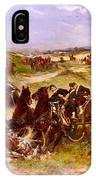 The Fray Of Battle IPhone Case