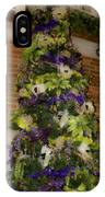 The French Thistle Tree Fashions For Evergreens Hotel Roanoke 2009 IPhone Case