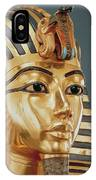 The Funerary Mask Of Tutankhamun IPhone Case