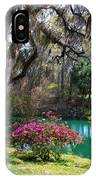 The Garden In The Abbey IPhone Case