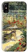 The Garden Of Manet IPhone Case