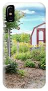 The Garden Shed IPhone Case