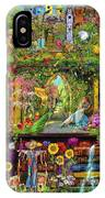 The Garden Shelf IPhone Case