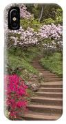 The Garden Steps IPhone Case