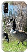 The Geese Are Back IPhone Case
