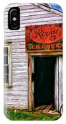 The General Store Painted IPhone Case