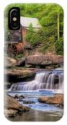The Glade Creek Mill IPhone Case