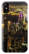 The Golden City IPhone Case