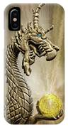 The Golden Dragon IPhone Case