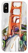 The Golden Gate Bridge San Francisco IPhone Case