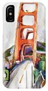 The Golden Gate Bridge San Francisco IPhone Case