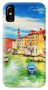 The Grand Canal Venice  IPhone X Case