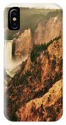 The Grand Canyon Of The Yellowstone IPhone Case