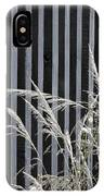 The Grass And Fence IPhone Case