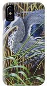 The Great Blue Heron IPhone Case