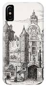 The Great Chatelet Of Paris. Principal IPhone Case