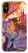 The Great Fire Of Woman IPhone Case