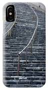The Great Wall Steps IPhone Case