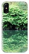 The Green Bush Hdr IPhone Case