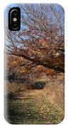 The Green Grass Road IPhone Case
