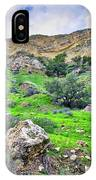 The Greening Of The Las Llajas Trail  IPhone Case