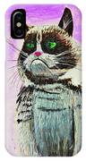 The Grumpy Cat From The Internets IPhone Case
