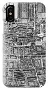 The Hague: Map, C1650 IPhone Case