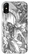 The Harrowing Of Hell Or Christ In Limbo From The Large Passion 1510 IPhone Case