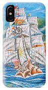 The Harvest Conchquest IPhone Case