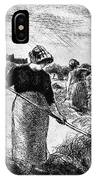The Hayymaker Camille Pissarro IPhone Case
