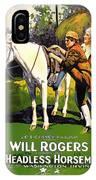 The Headless Horseman 1922 IPhone Case