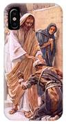 The Healing Of The Leper IPhone Case
