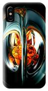 The Heart Of Chaos Abstract IPhone Case