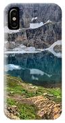 The Heart Of Many Glacier IPhone Case