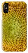 The Heart Of The Sunflower IPhone Case
