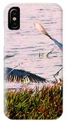 The Heron And The Egret IPhone Case