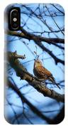The Hiding Singer. Dunnock IPhone Case