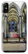The High Altar In Salisbury Cathedral IPhone Case