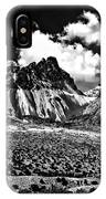 The High Andes Monochrome IPhone Case