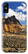 The High Andes Painted Version IPhone Case