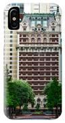 The Historic Adolphus Hotel IPhone Case