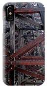 The Historic Kinsol Trestle  Inside View IPhone Case