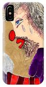 The Hobo Circus Clown IPhone Case