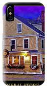 The Holderness General Store IPhone Case