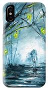 The Hollow Road IPhone Case