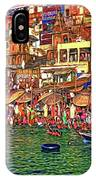 The Holy Ganges - Paint IPhone Case