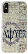The Honest Lawyer IPhone Case